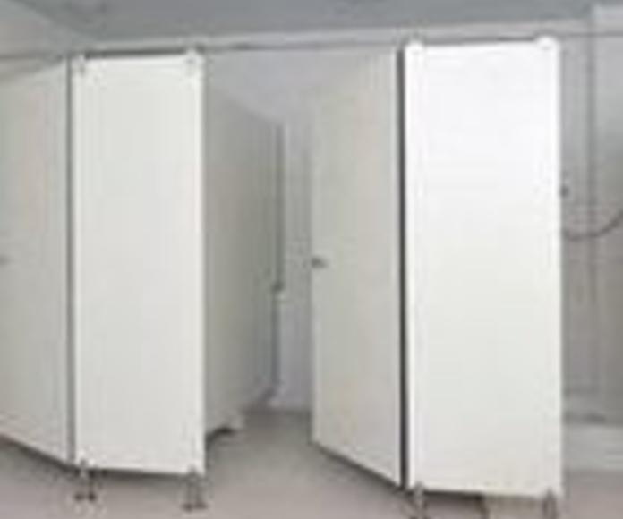 Instalación de cabinas fenólicas en Girona