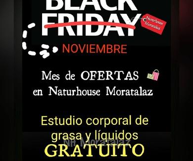 BLACK FRIDAY en tu Centro de Dietética Naturhouse Moratalaz