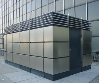 Proyectos de calefacción y protección contra incendios