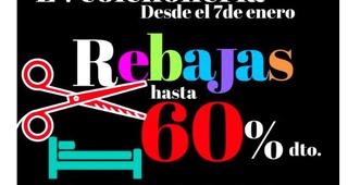 REBAJAS HASTA EL 60% EN EV COLCHONERIA (DEL 7 DE ENERO HASTA EL 28 DE FEBRERO)