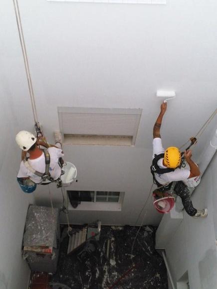Trabajos verticales: Servicios de Pinturas Suárez