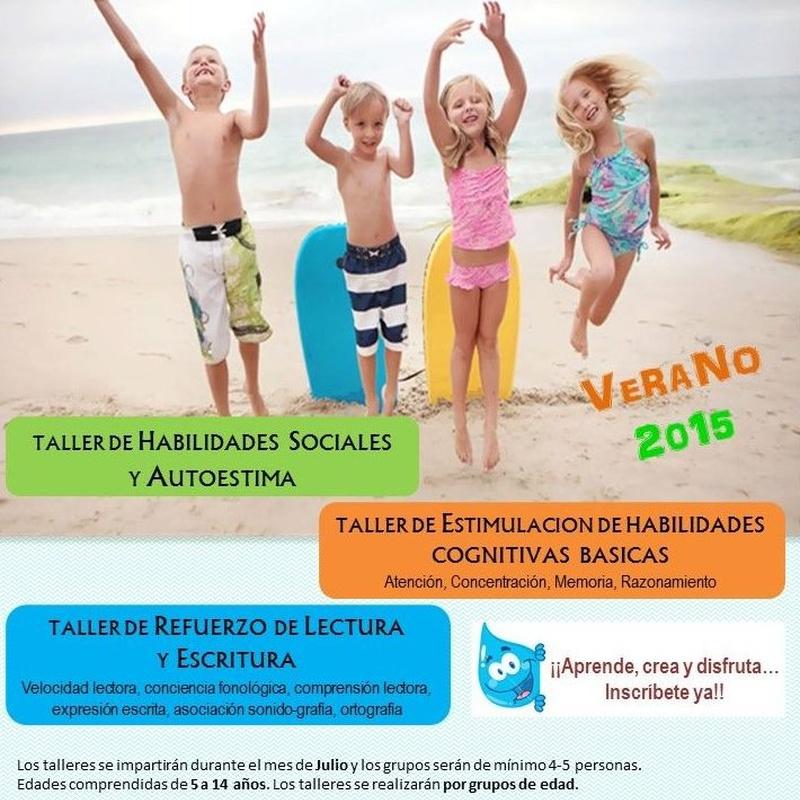 TALLERES DE VERANO 2015