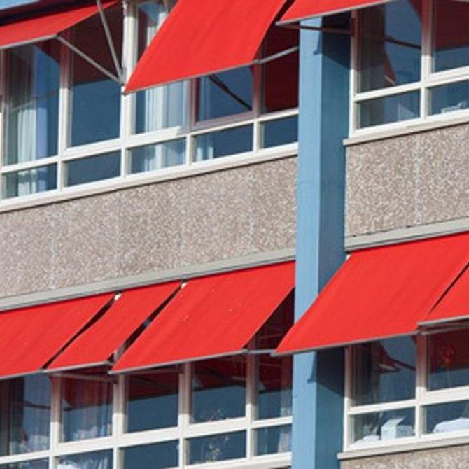 Los toldos para ventanas