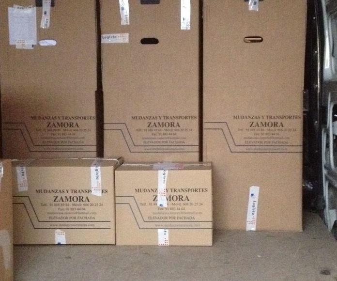Embalajes Alcala de Henares: Servicios de Mudanzas Zamora