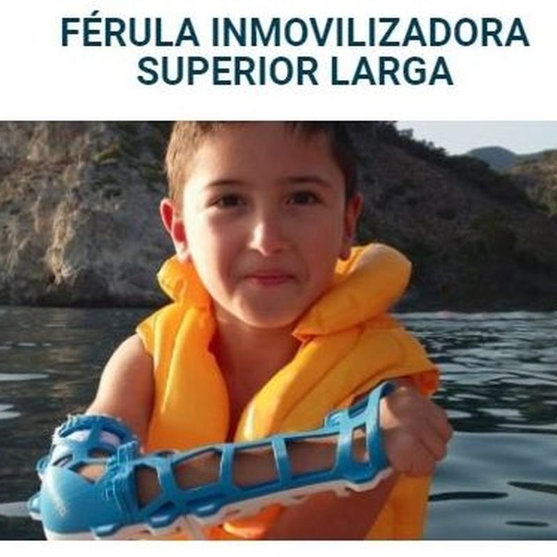 FIIXIT, FÉRULAS 3D: ¿Qué podemos ofrecerte? de Gabinete de Ortopedia Alcalá, S.L.