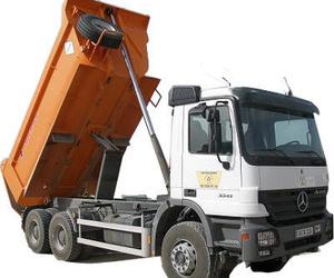 Alquiler de camiones de tres ejes