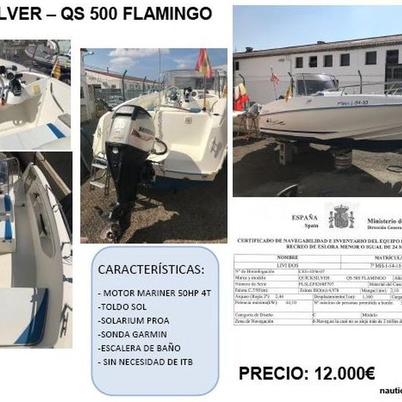 QUICK SILVER QS 500 Flamingo (EN VENTA): Productos y servicios de Náutica Puig