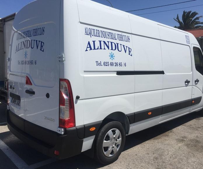 Vehículo de 12 metros cúbicos: Alquiler de vehículos de Alinduve