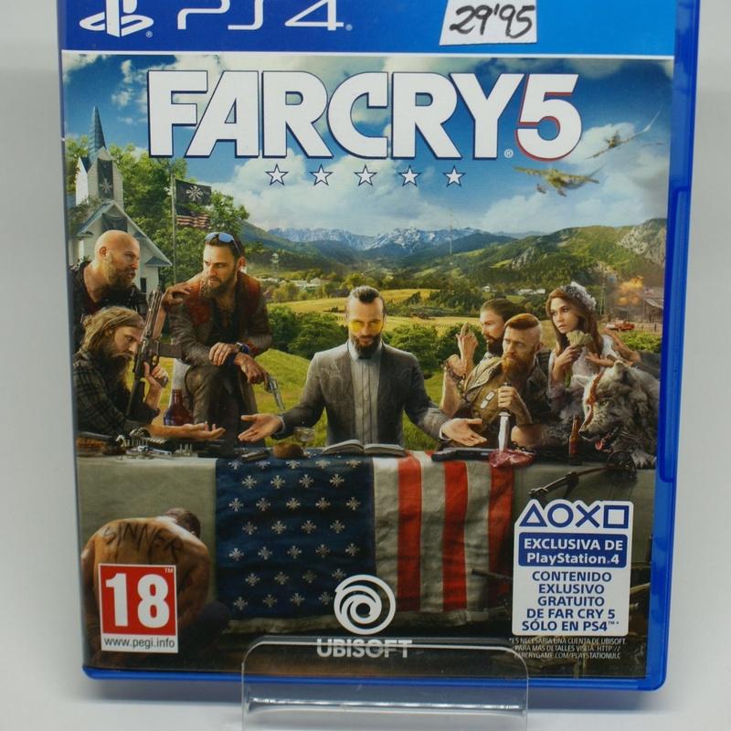 PS4 FAR CRY 5: Compra y Venta de Ocasiones La Moneta