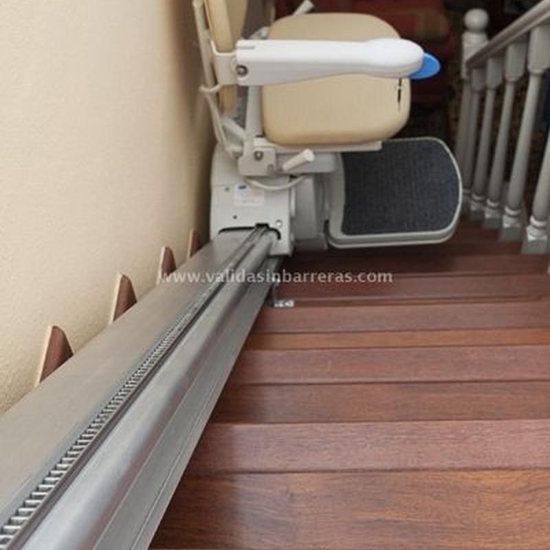 Sillas salvaescaleras Fidus: Productos de Sertiber