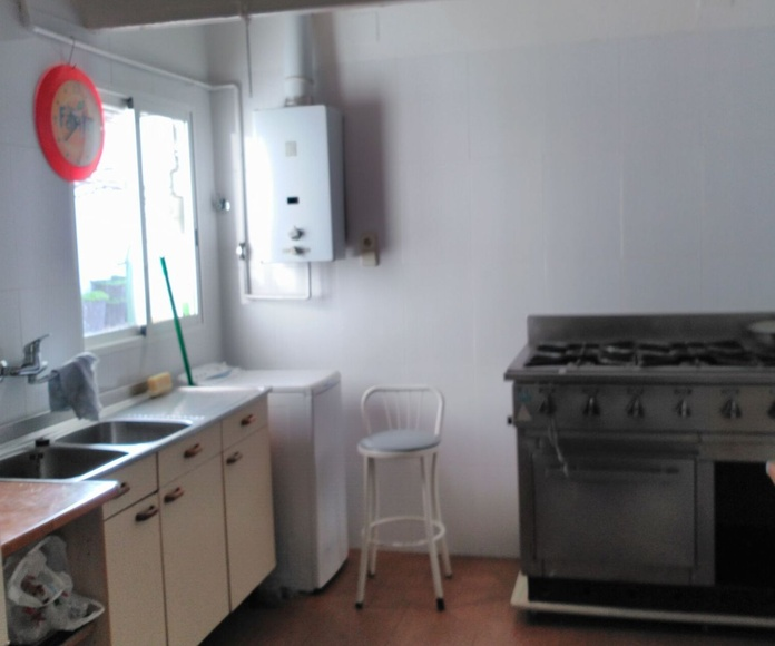 Antes: Una cocina de pesadilla