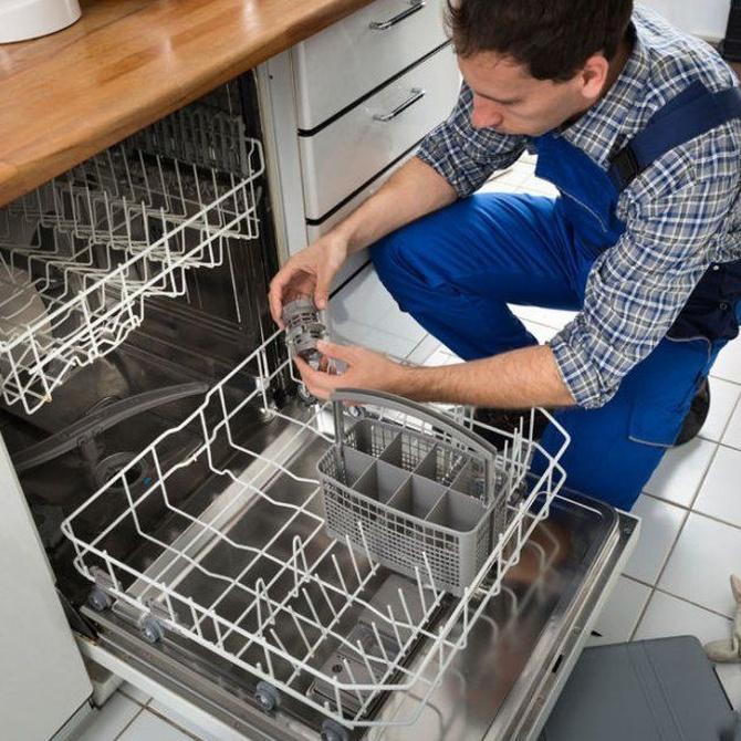 Averías frecuentes de los lavavajillas