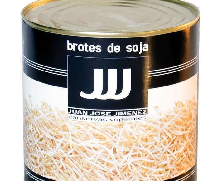 Brotes de Soja Lata de 3 Kgs. Marca JJJ