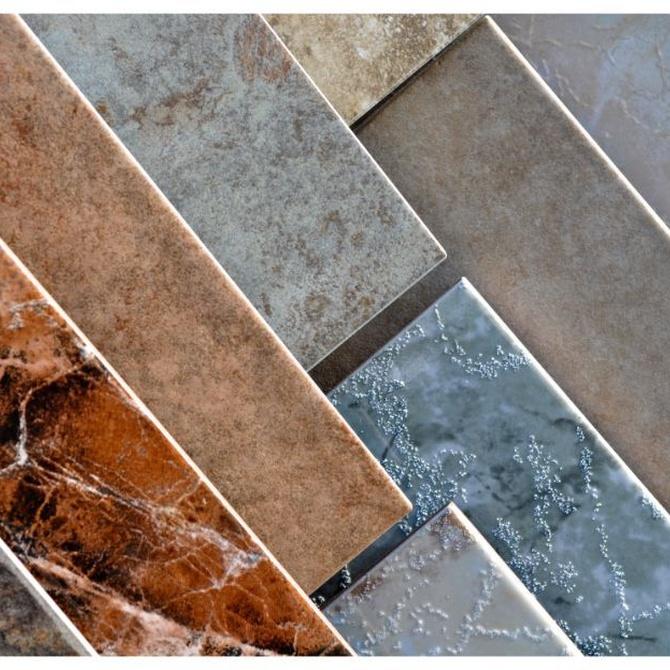 La variedad de azulejos