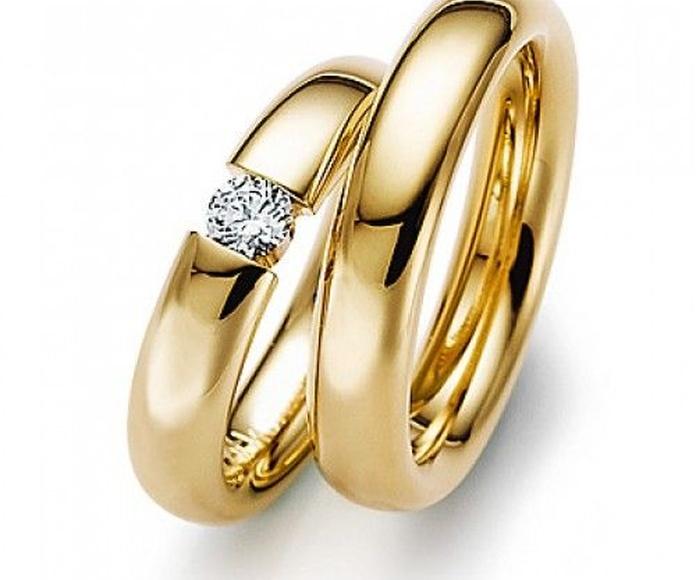 Anillos de oro amarillo: Alianzas de My Ring