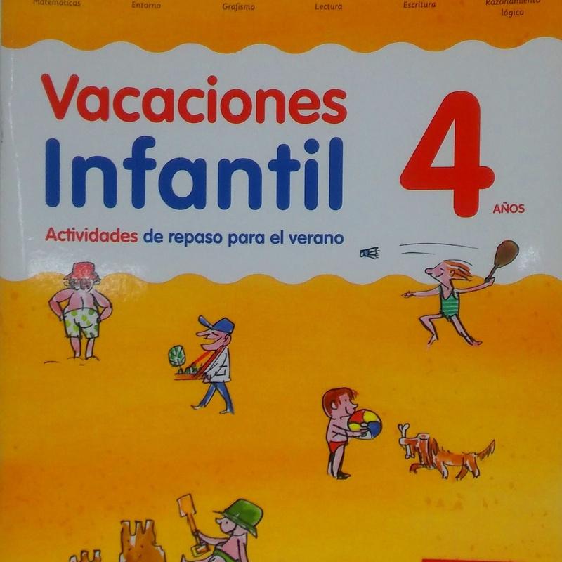 VACACIONES INFANTIL 4 AÑOS. SANTILLANA