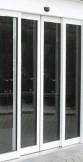 Puertas cortafuegos de vidrio, automáticas, batientes y fijos