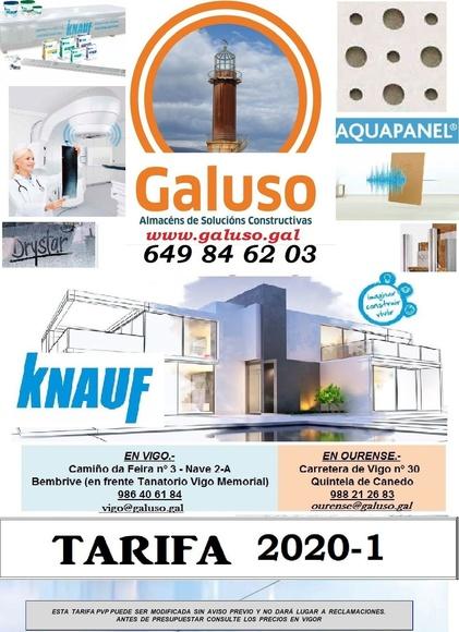 KNAUF: Catálogo de Galuso