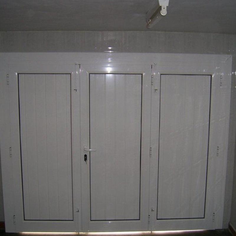 Carpintería de aluminio : Productos y servicios   de Masque-Vidre, S.L.