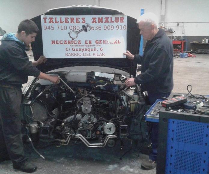 Mecánica general: Servicios de Talleres Amalur