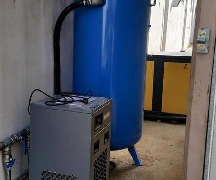 Instalaciones de aire comprimido: Servicios de Instalaciones Alba