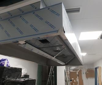 Reparación y mantenimiento de barras y encimeras de acero inoxidable.: Servicios de Equiporama