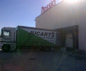 Transporte de muebles: SERVICIOS de JUCARTS DISTRIBUCION Y LOGISTICA 2002 S.L