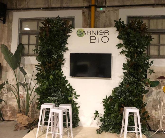 Jardin vertical natural garnier bio 2019