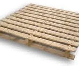 PALET DE 100 X 120 FINO PATIN A 120cm: Productos  de Palets Blanca
