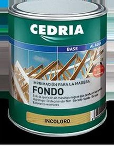 Fondo bloquea taninos CEDRIA en almacén de pinturas en pueblo nuevo.