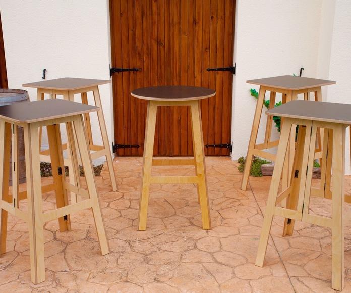 Mesa Plegable Hostelería, ideal para Terrazas: Productos de Tecdema, S.L.
