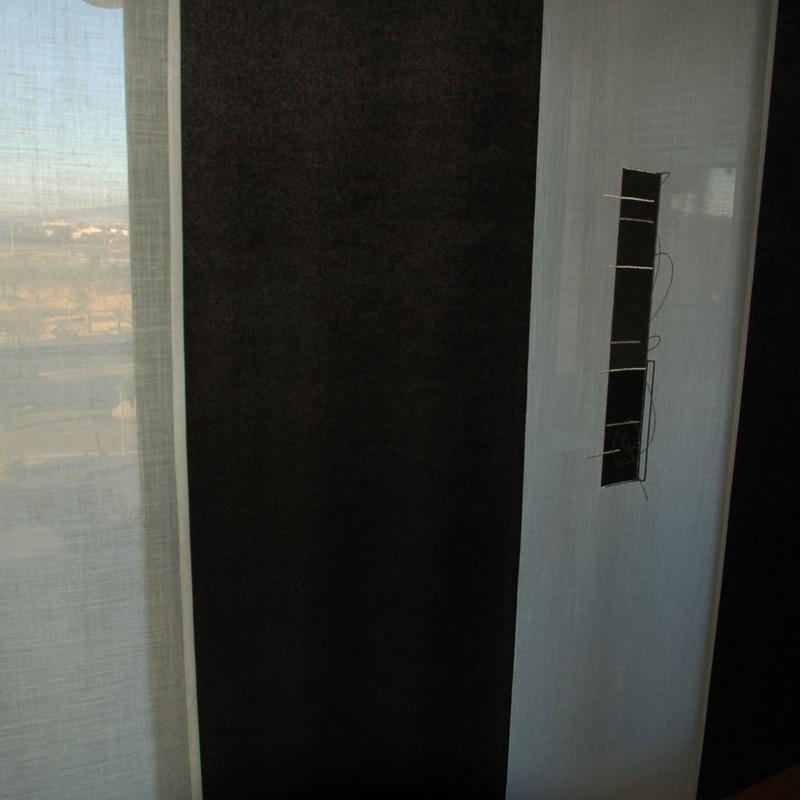 panel japones en tejido decorativo