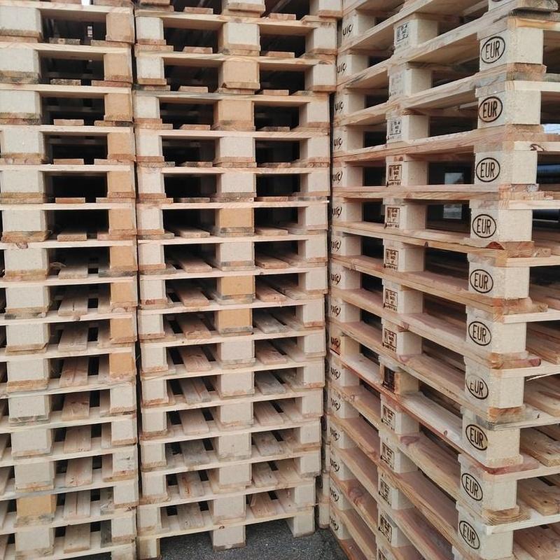 Fabricación de palets y embalajes especiales: Productos de Uspal, S.L.U.