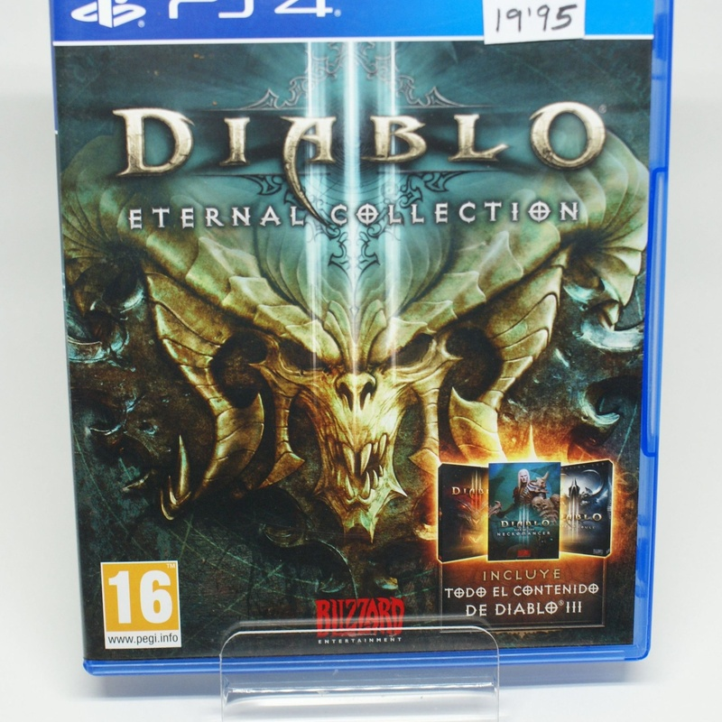 PS4 DIABLO III ETERNAL COLLECTION: Compra y Venta de Ocasiones La Moneta