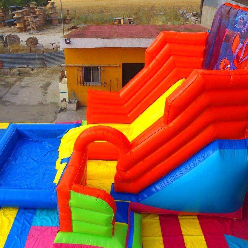 Castillo hinchable tobogan acuatico 3 en 1 Nemo: Catálogo de Hinchables Happy Jump
