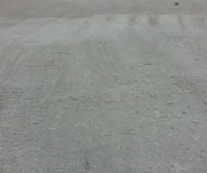 Pulido, rejuntado, endurecido con litio y poliuretano transparente de hormigón, en taller sin necesidad de poner un pavimento nuevo encima. (Muy Económico)