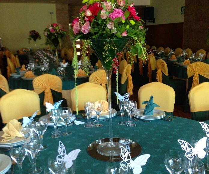 Decoración para eventos: Servicios  de Flores y viveros Prado