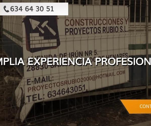 Empresas de construcción en San Fernando de Henares | Construcciones y Proyectos Rubio