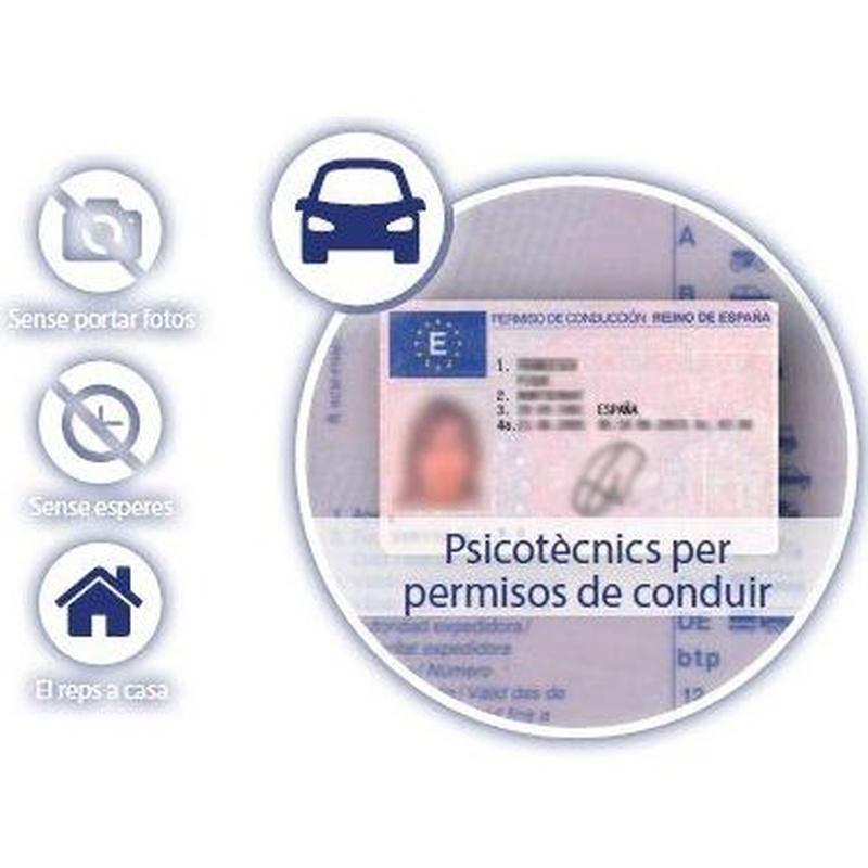 Permisos de Conducir: Servicios de CENTRE DE RECONEIXEMENT DEL CONDUCTOR DE VILA-SECA