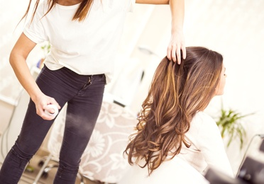 Lavado y peinado