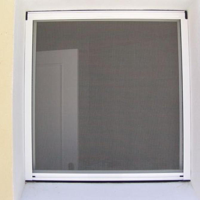 Mosquiteras en ventanas y puertas