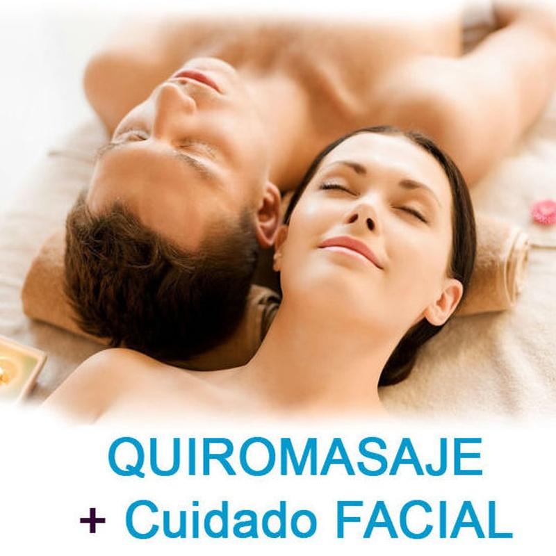 Pack Bienestar - Quiromasaje y Bioterapia Facial Activa: Servicios de Quirosan