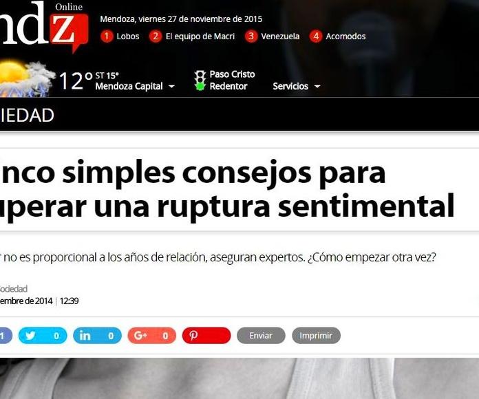 Nuevas publicaciones en: El Heraldo, BioChile, Guía Médica, La Prensa, Crítica, Parejas y Mendoza...