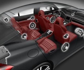Pantallas principales: Servicios de Media Car