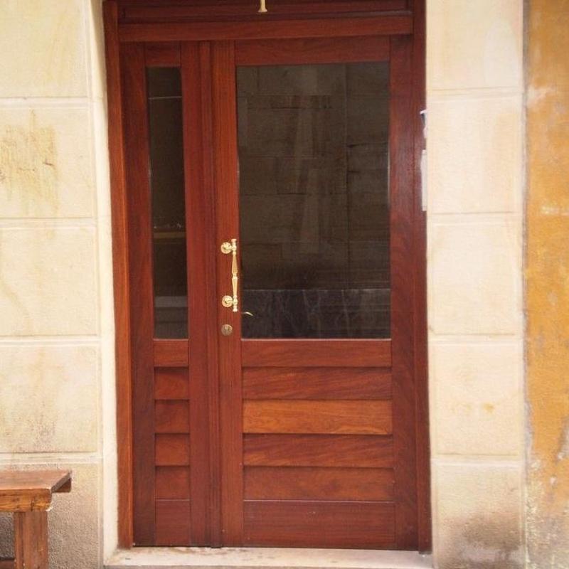 Puertas de Madera: Trabajos en madera de Carpintería San Andrés