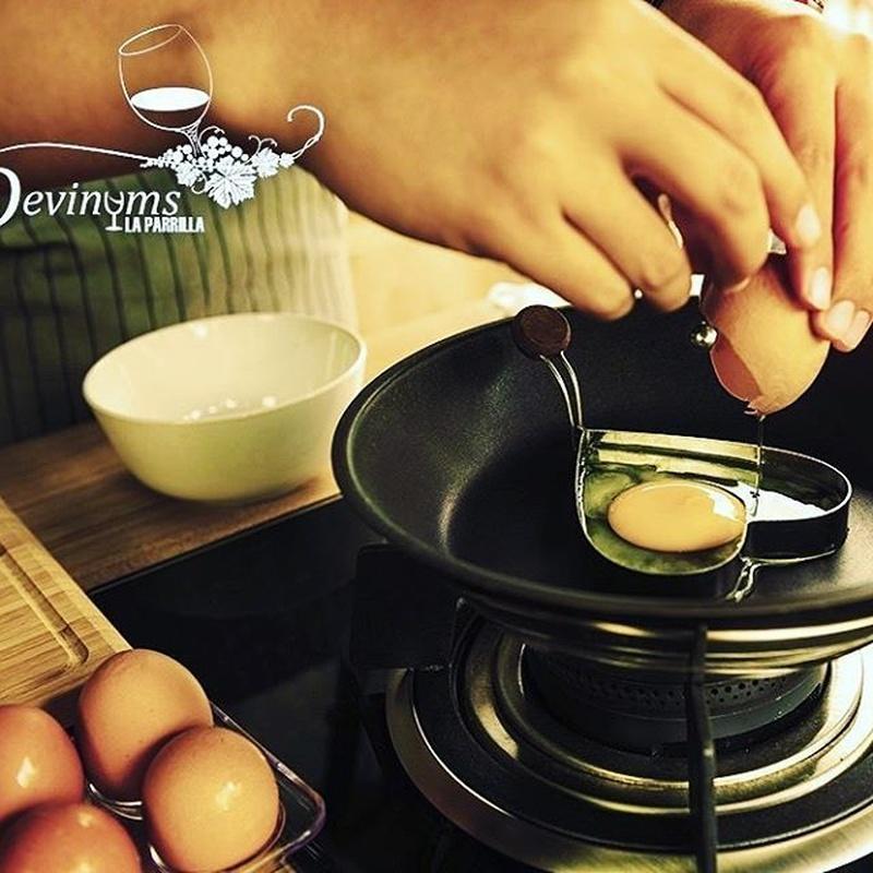 Son famosos nuestros huevos estrellados:  de Restaurante Taberna Vinare
