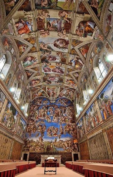 Hoy hace 505 años se inauguraban los frescos de la Capilla Sixtina