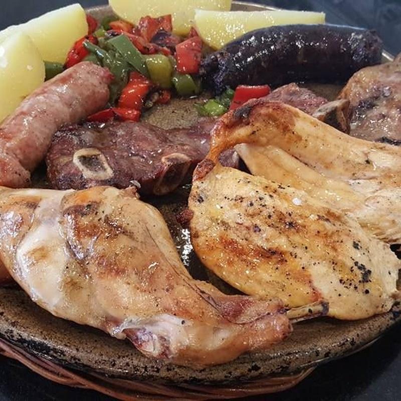 Carnes: Carta y menús de Restaurant Ran de Mar