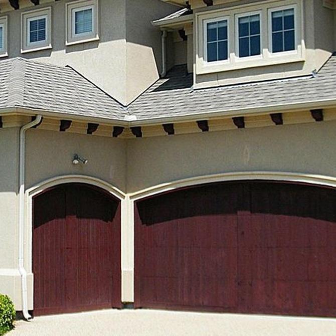 Los diferentes modelos de puerta de garaje
