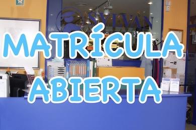 ABIERTA MATRÍCULA CURSO 2017-2018